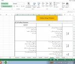 دانلود فایل آماده اکسل عالی و کاربردی تکنیک حل مساله به روش 8D